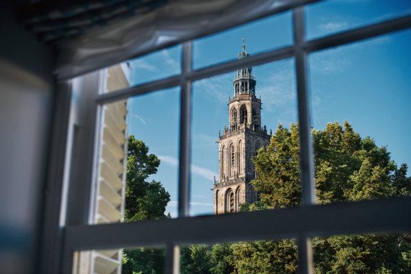 Prinsenhof_ER_Kamers_Detail_uitzicht Martinitoren